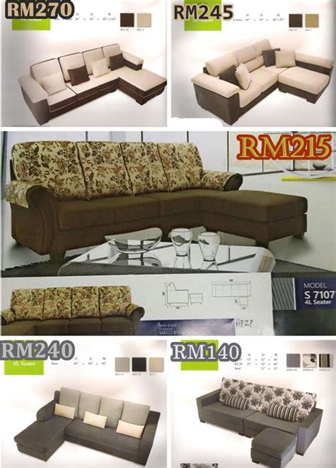 Sofa L Shape Murah set ruang tamu l shape sofa bayaran end 3 14 2017 3 15 pm