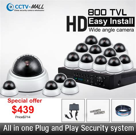 wholesale hotel security system 800tvl 16 channel