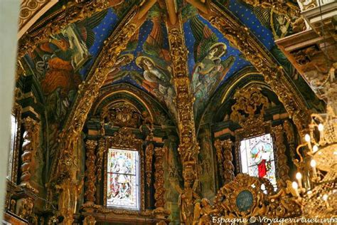 Cathedral Ceiling Painting by Valencia Cathedral Painting The Ceiling Of The