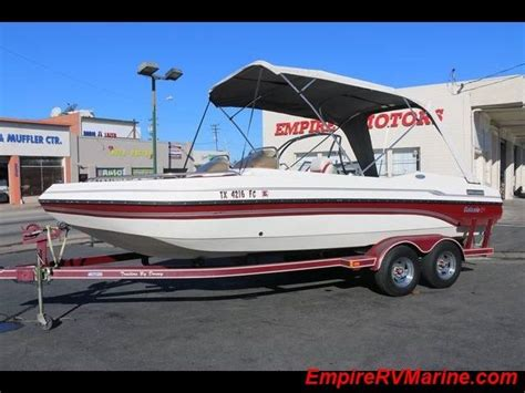 galaxie deck boat for sale galaxy ultra deck boat 2200 1997 for sale for 1 boats