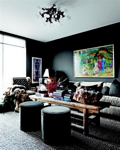 dark room ideas 10 stylish dark living room interior design ideas https