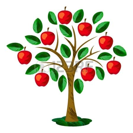 apple tree clipart apple tree illustration clipart panda free clipart images
