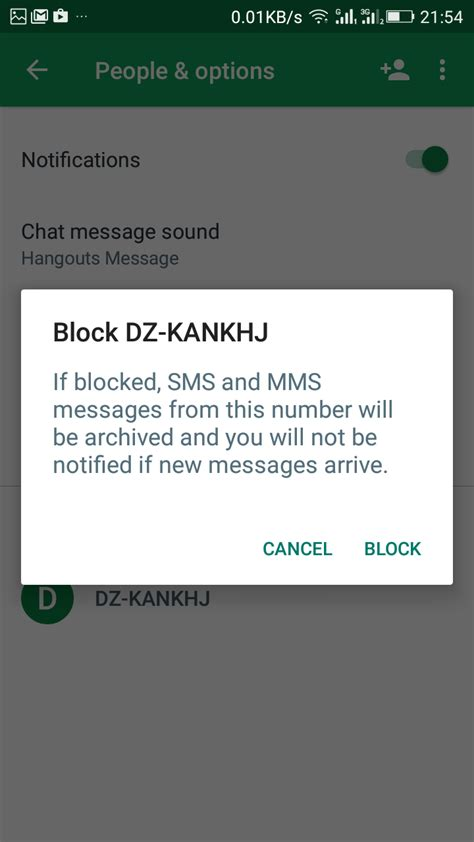 block messages android how to block spam messages in android using hangouts