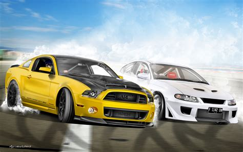 Performax Car Wallpaper Hd by Cars Drift Battle By Notoayako On Deviantart