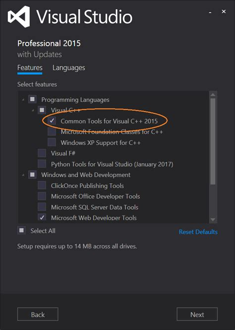 visual studio 2015 reset settings command line ysofters y soft rnd blog code only what you need