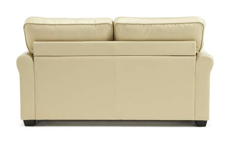 cream leather sofa bed serene naples cream faux leather sofa bed by serene