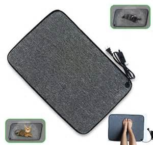 portable electric foot warmer heating mat warmer floor pad