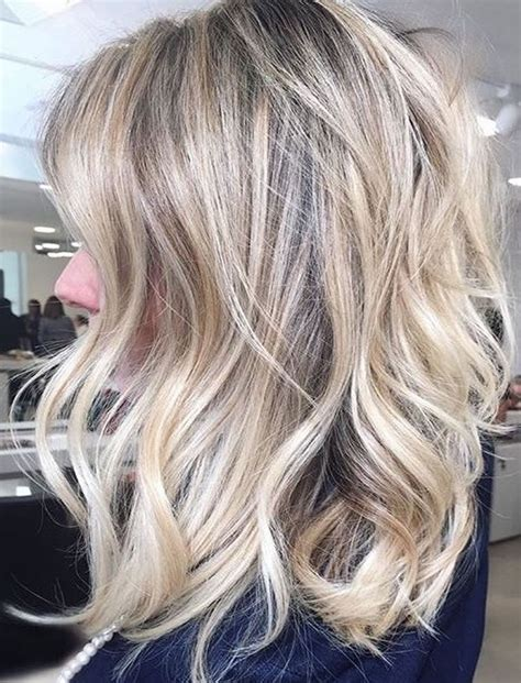 medium haircuts blonde hair blonde hair colors for 2017 50 fabulous pictures of