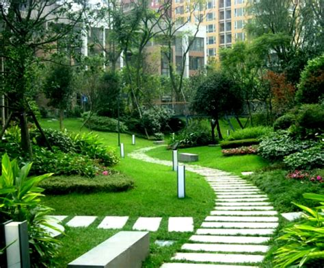 landscape garden design beautiful garden flower landscaping design ideas to