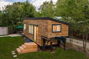stunning tiny house custom built gooseneck flatbed trailer home inspiration stories one place garage stairs loft