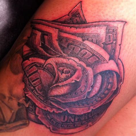 money rose tattoos money tattoos designs ideas and meaning tattoos for you