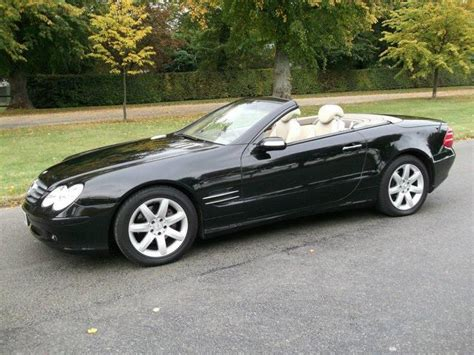 convertible mercedes black used 2004 mercedes convertible black edition class sl