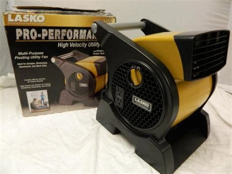 lasko pro performance blower fan 4900 lasko 4900 pro performance blower fan 2 210 volts outlets