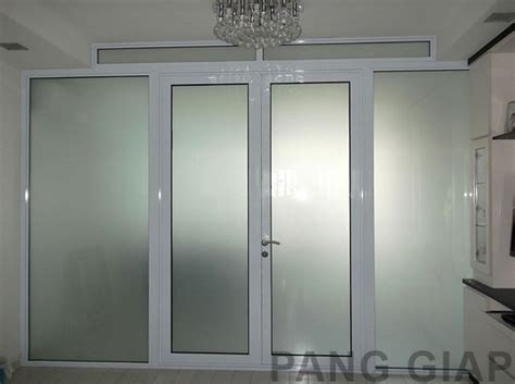 Sound Proof Glass Doors Product Gallery