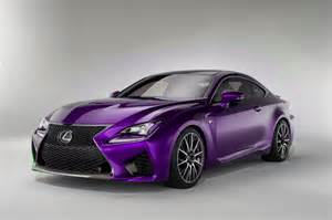 Lexus Rc F News Lexus Rc F Colored Cars