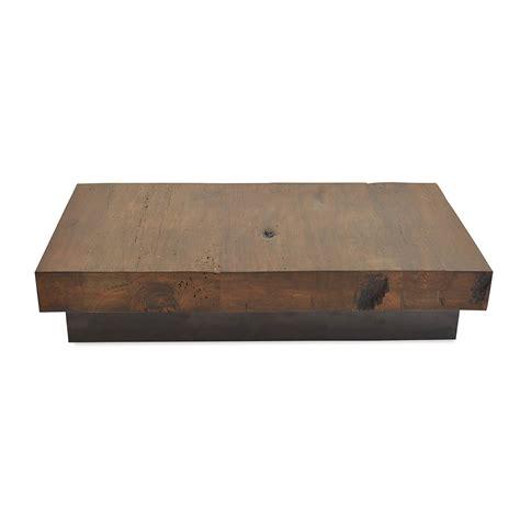large wooden l base salvaged retalho wood wood base rotsen
