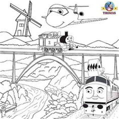 diesel train coloring page harold the helicopter thomas coloring pictures to print
