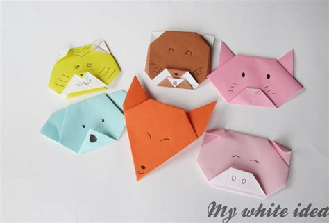 Kid Origami - animal origami crafts