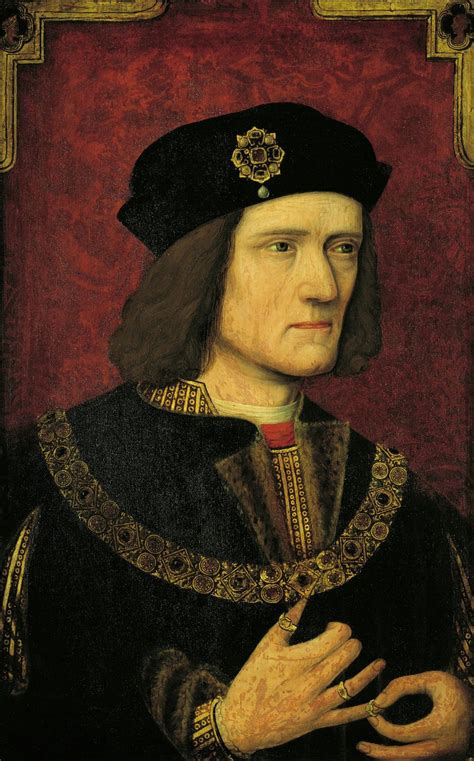 king richard a late tudor portrait of king richard iii restored and the mystery of the king s thumb solved