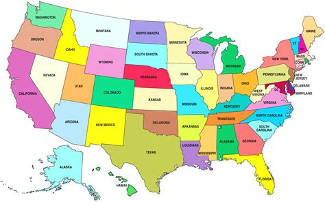 a map of the usa states and capitals usa map world maps