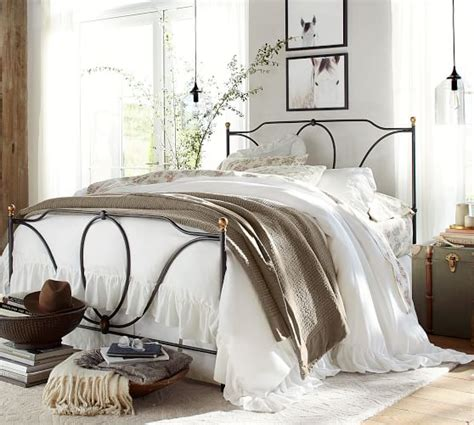 pottery barn metal bed tabitha metal bed pottery barn