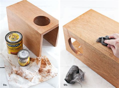 Wooden Sleeve by Wooden Sofa Sleeve With Cup Holder A Beautiful Mess
