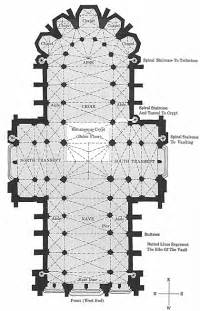 cathedral floor plan glossary ariel view the pillars