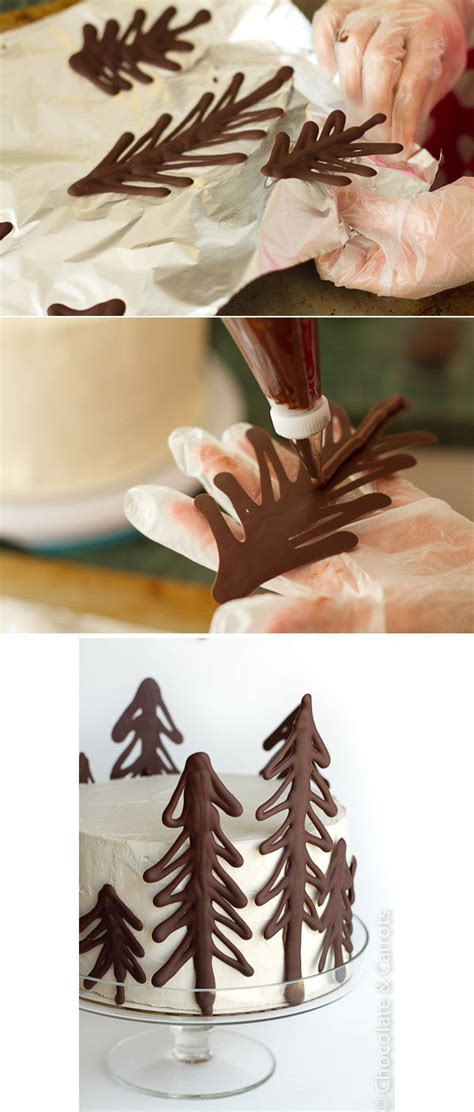 chocolate tree cake decorations pictures   images  facebook tumblr pinterest