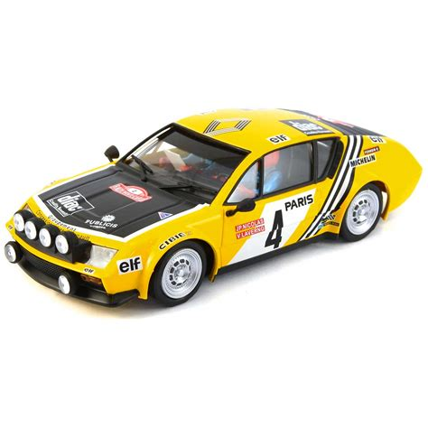 renault alpine a310 rally avant slot renault alpine a310 rally monte carlo 1976