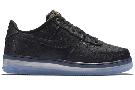 nike air force 1 low comfort nike air force 1 comfort lux low in black for men lyst