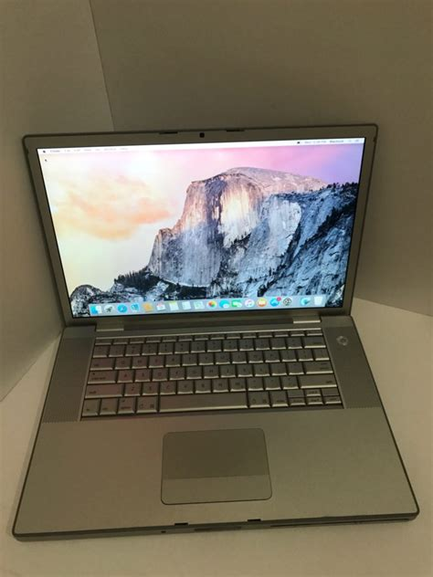 Macbook Pro Yosemite macbook pro 15 quot 2 2ghz 3gb 160gb 10 10 yosemite fix mac