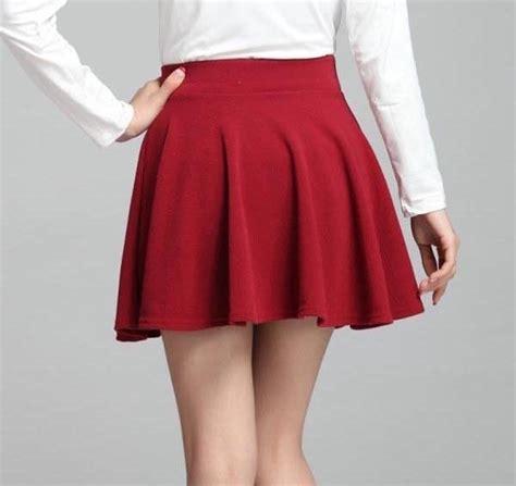imagenes de mallas blancas hermosa falda corta tableada de tela gruesa varios colores