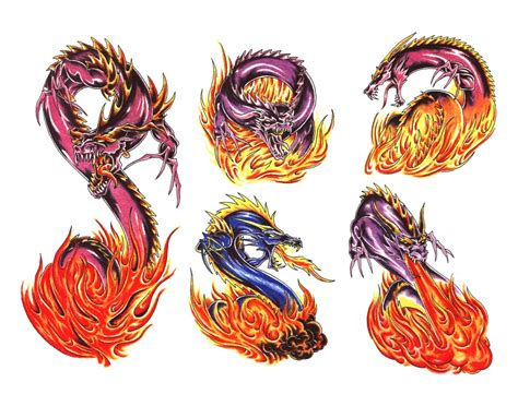fire breathing dragon tattoo designs with designs 1000 images about tattoos