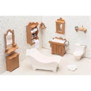 greenleaf bathroom furniture kit set 1 inch scale