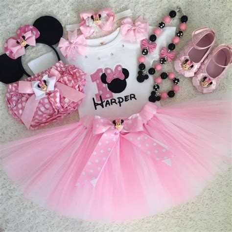 3 pcs set minnie mouse inspired birthday includes
