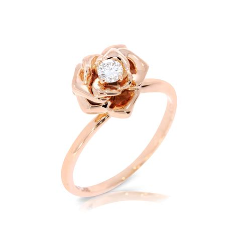 engagement ring flower engagement ring by ybsoulj