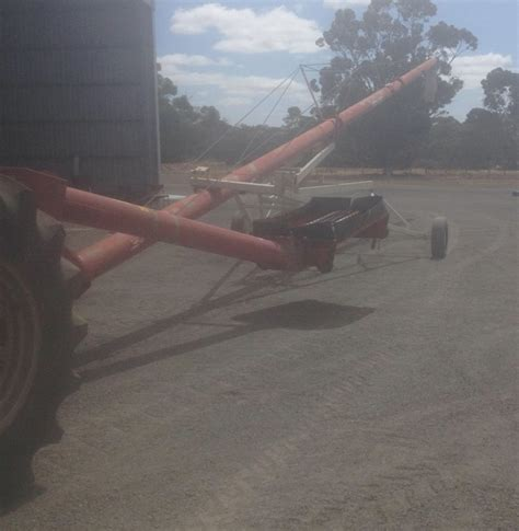 swing away auger for sale farm king 10inch x 70ft swing away auger for sale farm