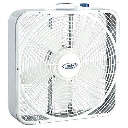 lasko 3720 box fan lasko 3720 premium weather shield box fan by office depot