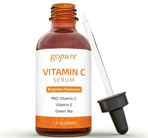 Ser C Serum Vitamin C gopure vitamin c serum with vitamin c vitamin e