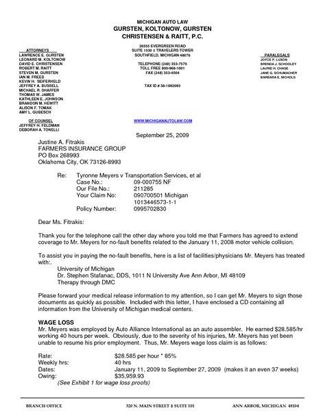 Best Photos of Injury Settlement Demand Letter Sample