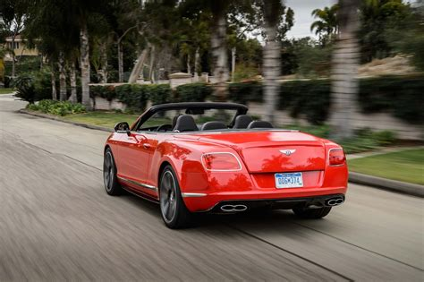bentley rear 2014 bentley continental gt v8 s first drive motor trend