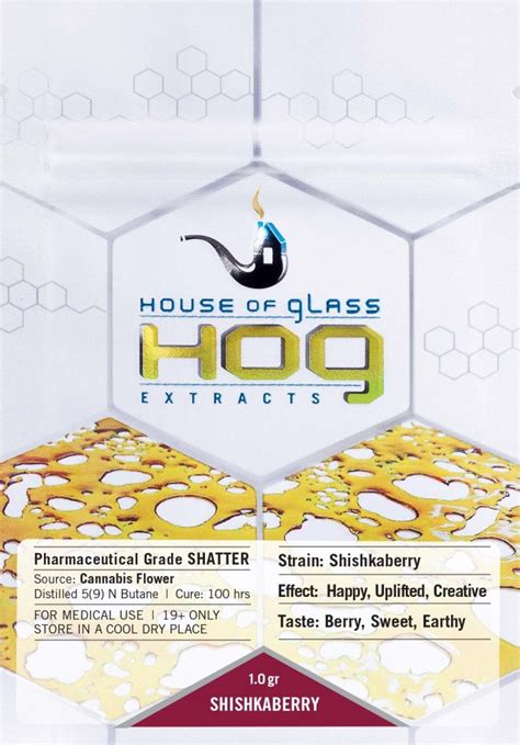 house of glass house of glass shatter 1 0 gram pack get cannabis online