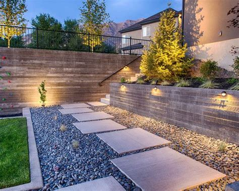 modern garden path ideas contemporary garden path ideas gravel rectangular