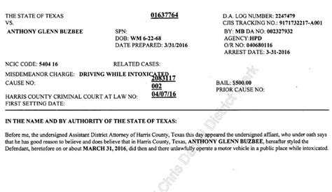Harris County Tx Court Records A M System Regent Arrested For Dwi Wtaw Wtaw