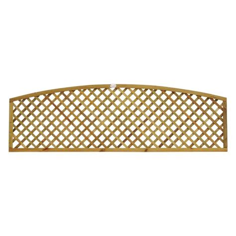 Curved Fence Top Trellis Curved Lattice Flat Fence Panel Manningham Concrete