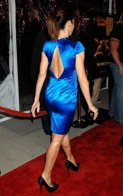Blue Marissa marisa tomei s blue dress rear of a marisa tomei