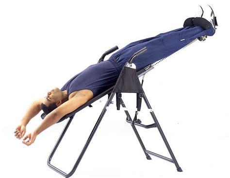 inversion table for sciatica reviews sciatic nerve inversion table brokeasshome com