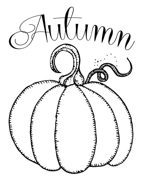 free printable pumpkin leaves gourd pumpkins coloring pages coloring pages
