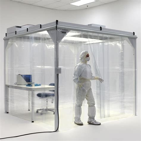 class 100 clean room valuline softwall modular cleanrooms for material testing