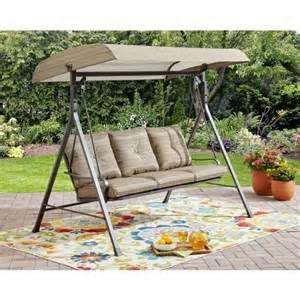 3 person futon patio swing search